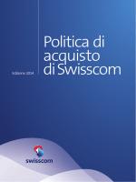 Politica di acquisto di Swisscom (pdf)