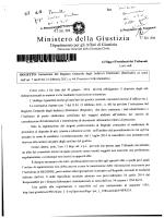 Ministero della Giustizia - Ordine dei Dottori Commercialisti e degli