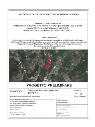 05b_Indagini_Geologiche - Comune di Roccarainola