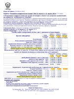 Tariffe nette comprensive di Iva per 1 persona in