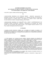 Accordo Economico Collettivo Consorzi Agrari 2014