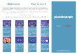 Brochure PDF - Plastimorph