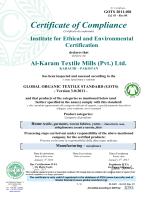 GOTS (Global Organic Textile Standards)