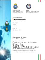 Ten. Pil. Dino Facchinelli - Club 40 Frecce Tricolori