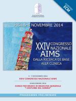 XXIV Congresso Nazionale AIMS
