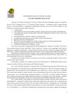Verbale 27 novembre 2014 - Università degli Studi del Sannio
