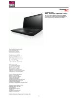 Cod. Articolo 08.5157 N4IDKIX - ThinkPad E531c