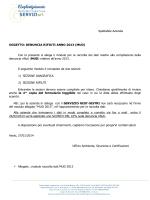 modulo raccolta dati MUD - Confartigianato Asolo Montebelluna