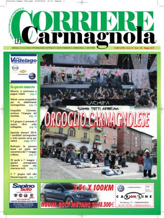 Corriere maggio 2014.qxd - Corriere di Carmagnola