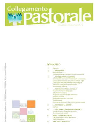 Collegamento Pastorale n. 13/2014