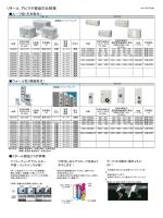 冷却能力の比較と製品紹介