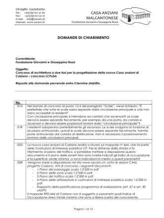 153.3 KB FAQ / Risposte domande di chiarimento Dimensione file