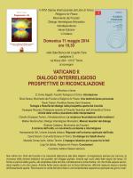 vaticano ii dialogo interreligioso prospettive di riconciliazione