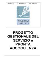 scarica il progetto gestionale - Elsa Cooperativa Sociale – Canelli
