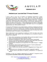 A Q U I L A  77 - Club 77 Frecce Tricolori Monfalcone