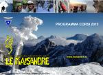 Corso IAEE AS 2015 Rel 00 - Scuola di Alpinismo e Arrampicata