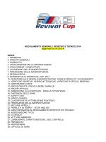 Regolamento M3 REVIVAL CUP