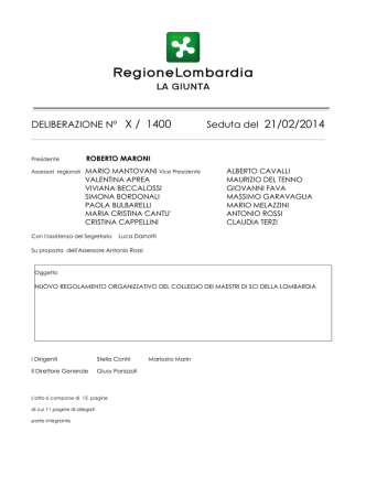 delibera_X_1400-2014_02_21 - Maestri di sci – Lombardia