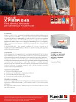 Ruredil X Fiber 54S Scheda tecnica IT