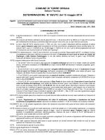 COMUNE DI TORRE ORSAIA DETERMINAZIONE N° 86/UTC del 15