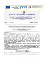 Disciplinare della RdO - Istituto Comprensivo Statale di TEGGIANO