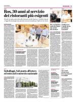 Ros, 30 anni al servizio dei ristoranti più esigenti