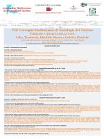 Programma - Il convegno - Università della Calabria
