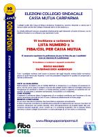 elezioni collegio sindacale cassa mutua cariparma