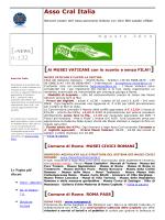 ASSOCRAL - aggiornamenti Agosto 2014