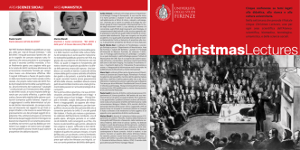 ChristmasLectures - Università degli Studi di Firenze