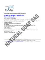 SCHEDA TECNICA Brillantante Natural Soap Sas