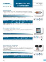 Amplificatori SAT e Commutatori