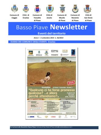 9 settembre 2014 - Comune di Jesolo
