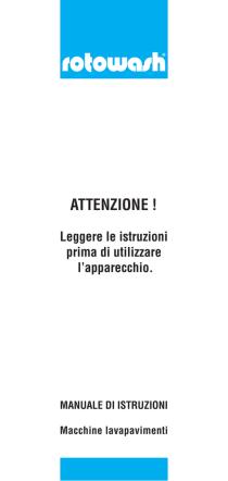 ATTENZIONE ! - Rotowash Italia