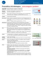 Preanalitica microbiologica: come eseguire i prelievi