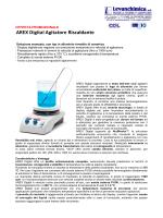 AREX Digital Agitatore Riscaldante