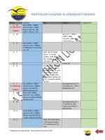 tabella mese di aprile