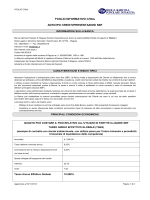 FOGLIO INFORMATIVO C/5bis ANTICIPO CREDITI