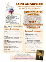 Programma - Cottolengo