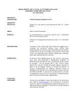 MINISTERO DELLO SVILUPPO ECONOMICO - Your TWIN