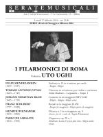 I FILARMONICI DI ROMA