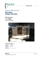 She Hong OMNIS VMC 850