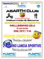 Programma e info Raduno Abarth_Lancia 2014 Millesimo