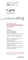 scarica il programma di sala - Orchestra Filarmonica Marchigiana