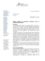 Circolare n. 10 del 2014 (fatturazione elettronica verso P.A. )