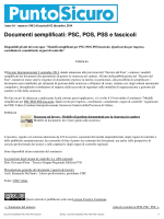 Documenti semplificati: PSC, POS, PSS e fascicoli