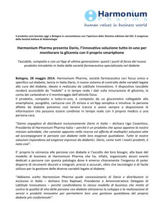 CS_Harmonium Pharma presenta Dario_28_05_14