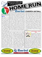 Notiziario Ufficiale - CASERTA SOFTBALL