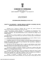 802: cig z520f59335 - Comune di Verbania