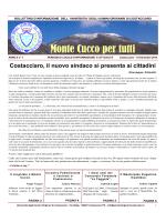 Monte Cucco per tutti - Università degli Uomini Originari di Costacciaro